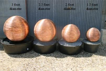 Copper Water Balls